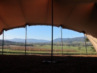 stretch bedouin marqee hire yarra valley winery