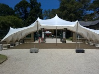 White stretch tent marquee melbourne